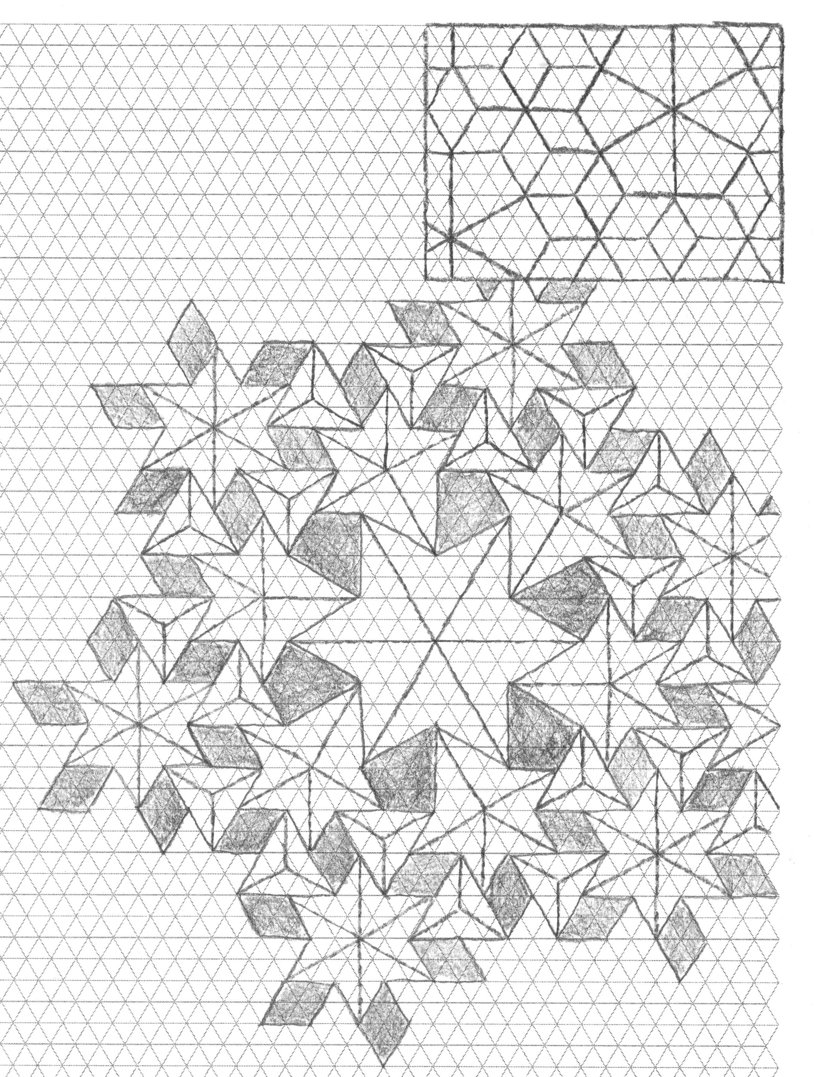 Arms Of Shiva Flagstone Version Crease Pattern